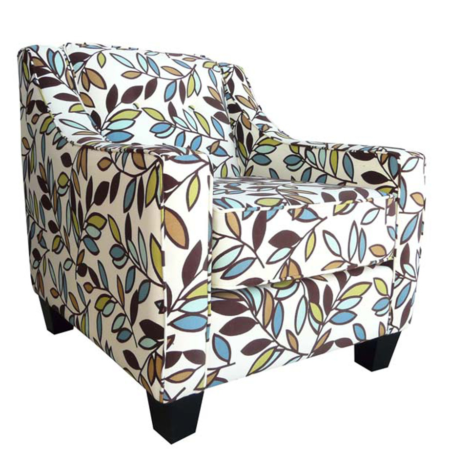 elite sofa, love seat, custom sofa, made in canada, custom sofa, fabric, modern, traditional, natalie chair, custom chair, club chair, floral