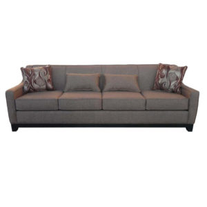 natalie sofa, elite sofa, love seat, custom sofa, made in canada, custom sofa, fabric, modern, traditional, natalie long sofa, solid back, tight back, 4 seat, wood base