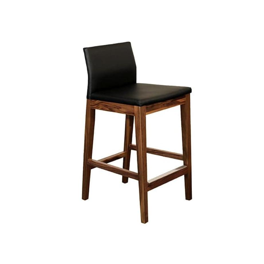 Slim bar stool, Dining Room, Bar Stools, bar, birch, contemporary, counter, custom chair, dining, fabric, island, made in canada, modern, parsons, solid wood, walnut, Counter, bar, Simple Modern Design, dining room ideas, Simple, Modern, Slim Stool
