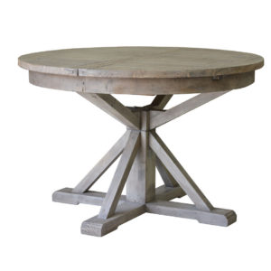 Sundried Round Table, rustic, solid wood, dining table, industrial, rustic, modern, urban