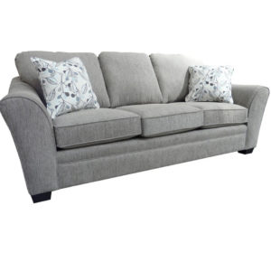 elite sofa, love seat, custom sofa, made in canada, custom sofa, fabric, modern, traditional, Tyson Sofa, flair arm, solid back