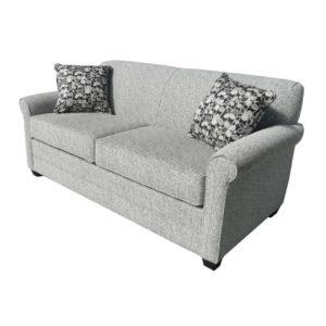 elite sofa, love seat, custom sofa, made in canada, custom sofa, fabric, modern, traditional, Victoria Sofa, rolled arm, solid back