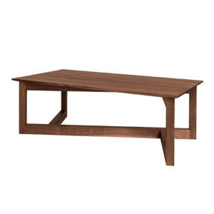 Occasional, End Table, Accents, Accent Furniture, birch, contemporary, glass, made in canada, mid century, modern, solid wood, walnut, living room ideas, unique, modern, verbois, custom stain, simple, Living Room, glass shelf, coffee table, Zeus Coffee Table