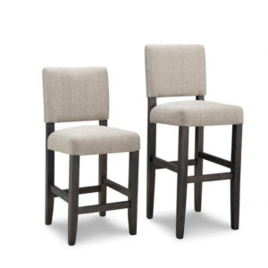 portland parsons stool, solid wood, made in canada, handstone, rustic, modern, contemporary, fabric seat, wood seat