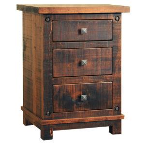 solid wood bedroom furniture, rustic wood bedroom furniture, canadian made bedroom furniture, ruff sawn bedroom furniture, custom bedroom furniture, muskoka night stand