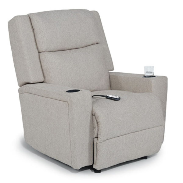 asher recliner, power recliner, best home furnishings, contemporary recliner, refined recline